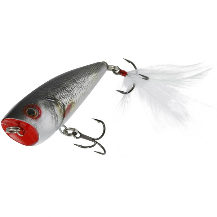 poisson nageur flottant popper BULLER 60 BLACK BASS - 54223