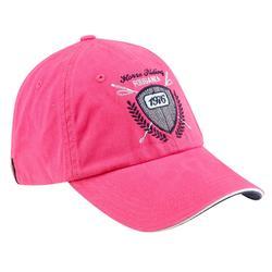 Gorra equitación adulto JUMP rosa fucsia