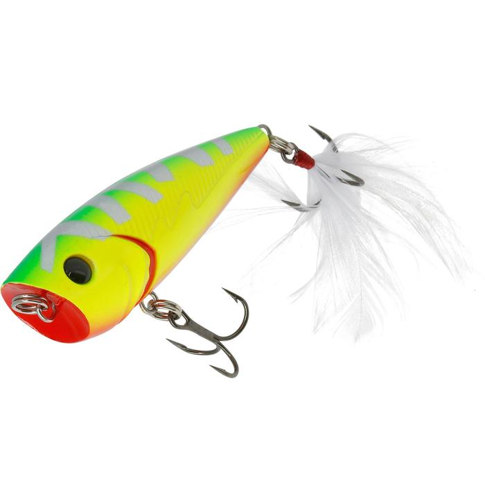 poisson nageur flottant popper BULLER 60 BLACK BASS - 54233