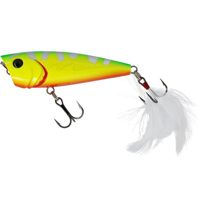 poisson nageur flottant popper BULLER 60 BLACK BASS - 54237