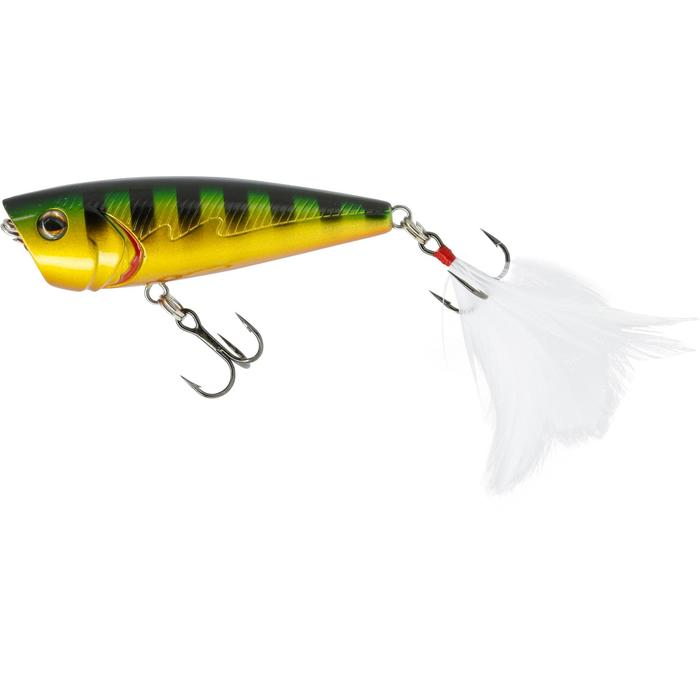 poisson nageur flottant popper BULLER 60 BLACK BASS - 54242