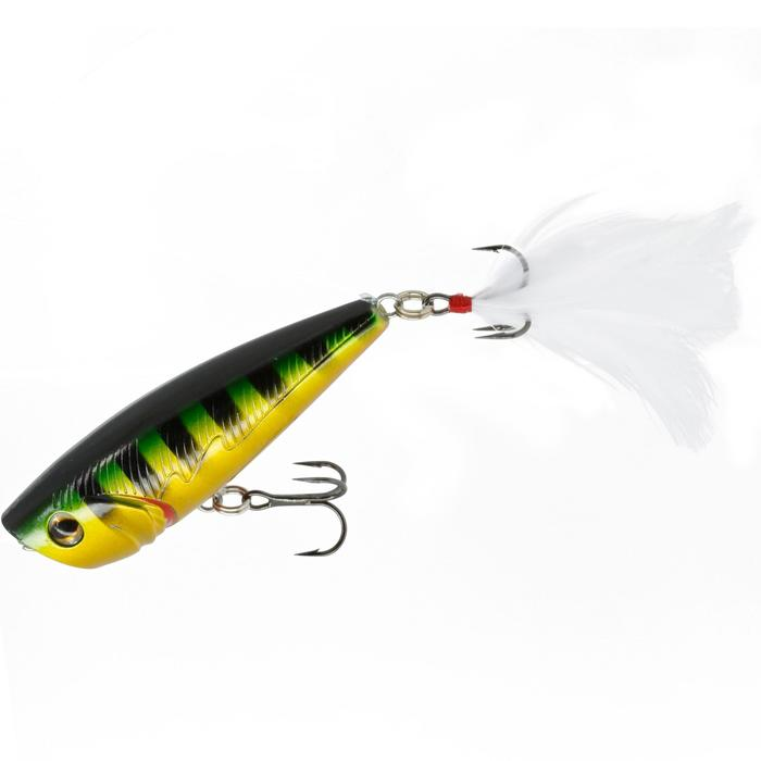 Pez nadador flotante popper BULLER 60 STRIPED PERCH