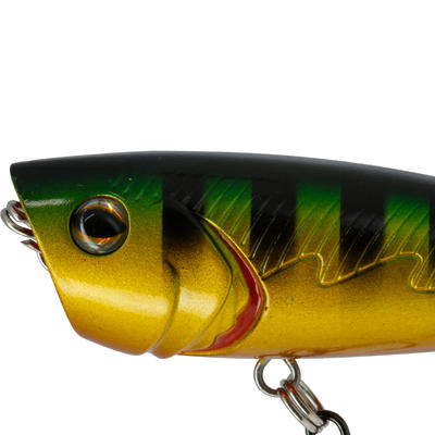 floating popper plug bait BULLER 60 STRIPED PERCH