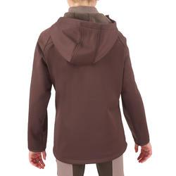 Softshell jas voor kinderen, ruitersport - 542534