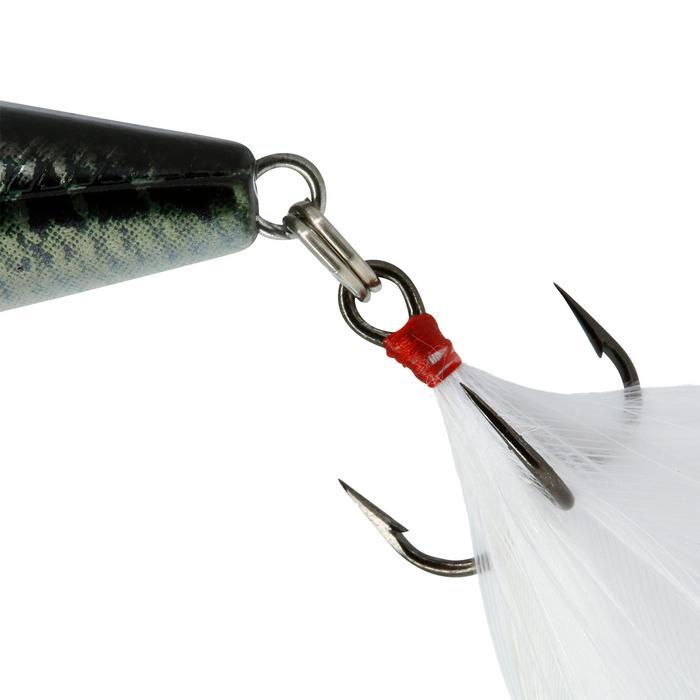 poisson nageur flottant popper BULLER 60 BLACK BASS