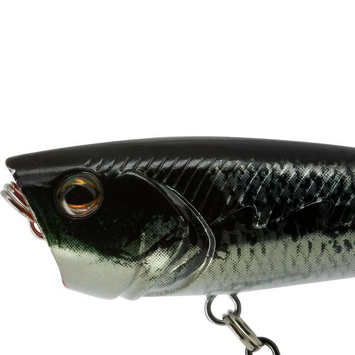 Drijvend kunstvisje popper Buller 60 zwartbaars