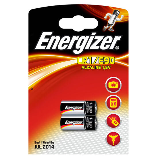 Set 2 batterijen E90LR01 1,5V - 544935