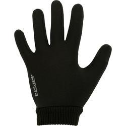 Waterafstotende handschoenen Keepwarm voor kinderen zwart