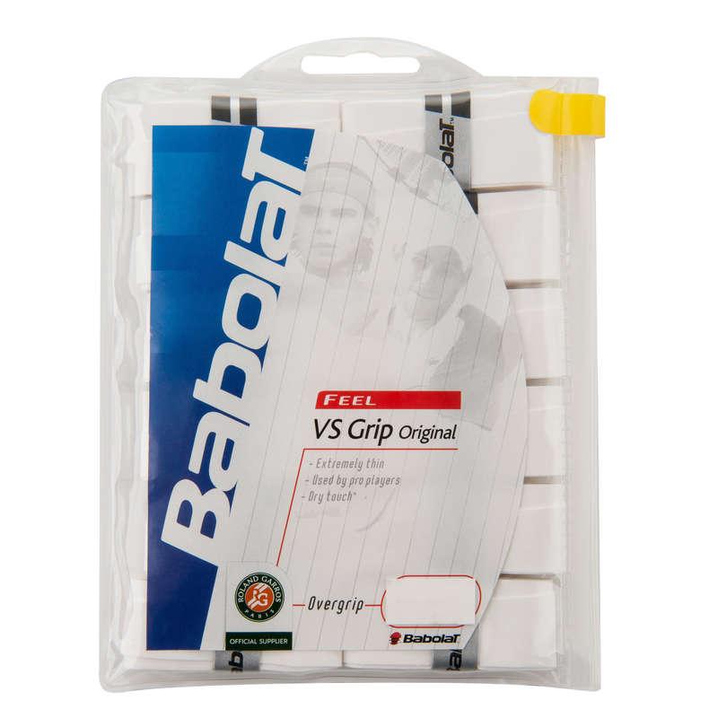 Tennisschläger Zubehör Tennis - Griffband Overgrip VS x12 BABOLAT - Tennis Ausrüstung