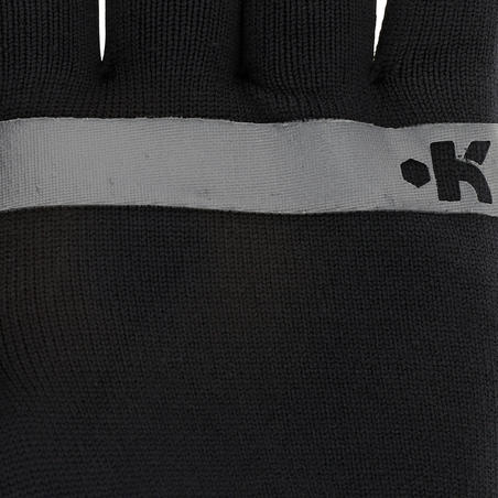 Keepwarm Adult Seamless Gloves Black