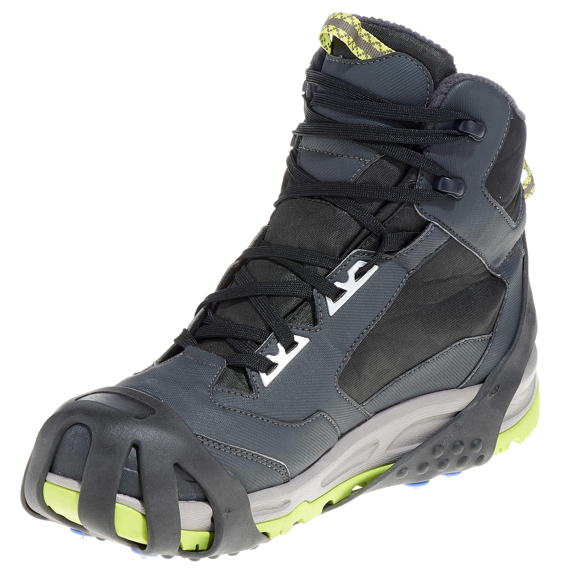 SH100 Snow Hiking Anti-Slip Grip Black