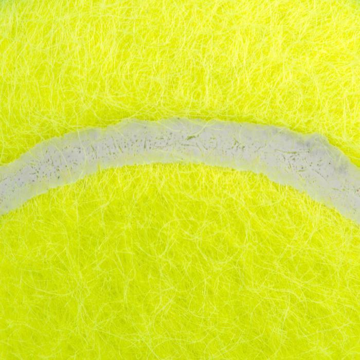 Tennisballen US Open geel 4 stuks