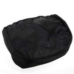 MEN'S SKI HELMET AND SNOWBOARD BAG, BLACK