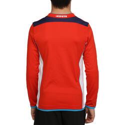 Voetbalshirt met lange mouwen voor kinderen F500 - 54692