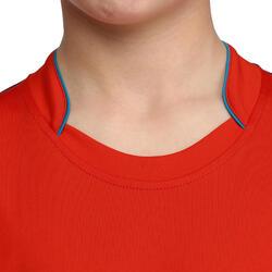 Voetbalshirt met lange mouwen voor kinderen F500 - 54701