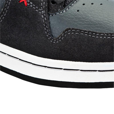 Chaussures de skateboard montantes Junior CRUSH HIGH grises