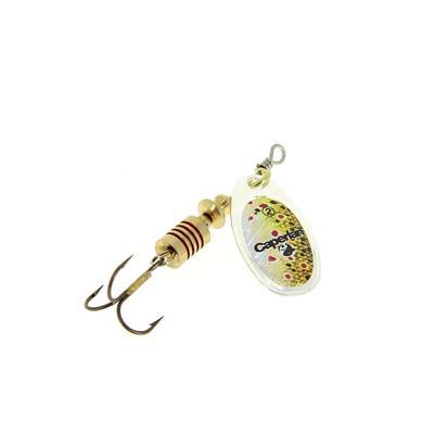 Cuiller pêche PONGA _DIESE_2 Rainbow