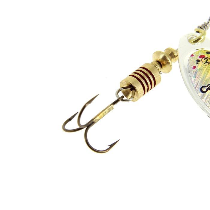 Cuiller pêche PONGA #2 Rainbow - 548504