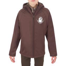 Softshell jas voor kinderen, ruitersport - 549415