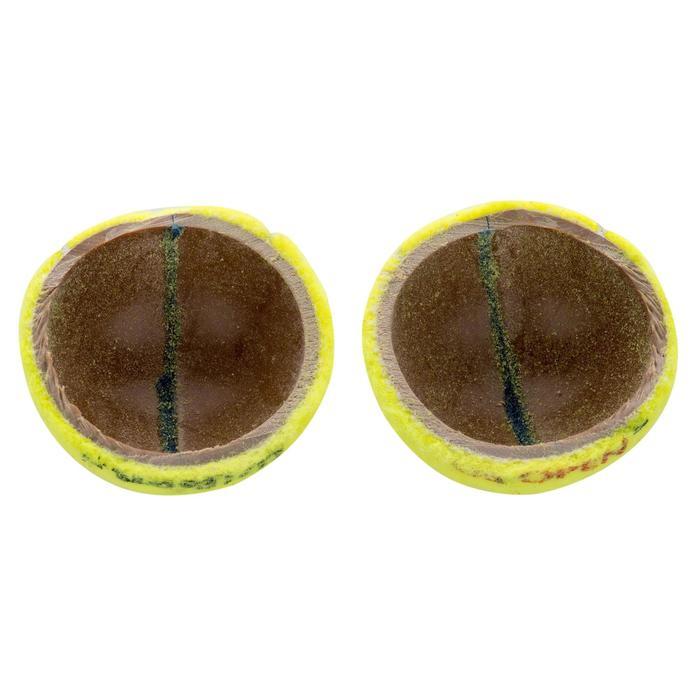 Tennisballen dubbelpak US Open 2 kokers met 4 ballen geel