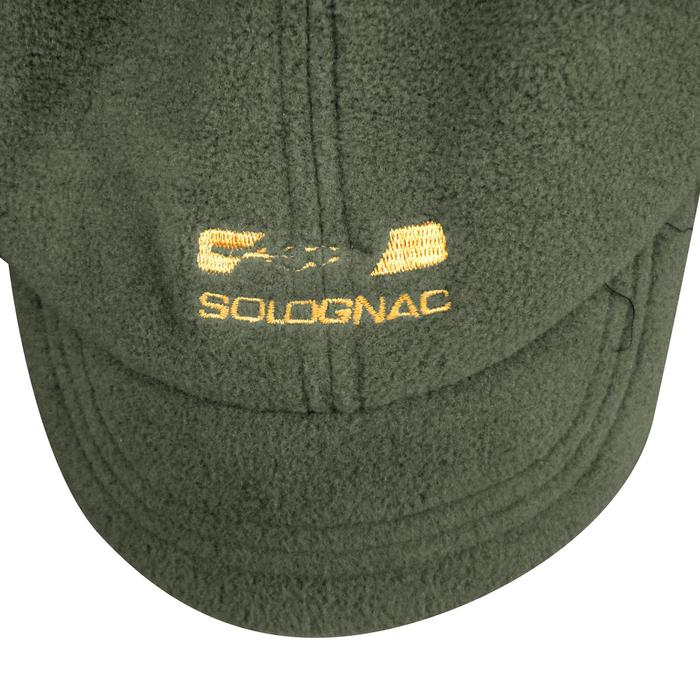 Casquette cagoule chasse 100 vert - 549723