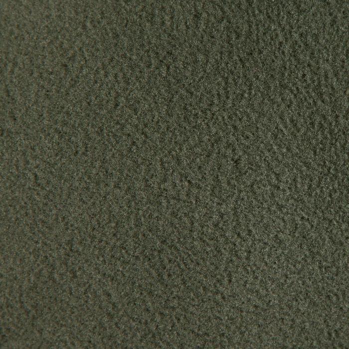 Bivakmuts met klep 100 voor de jacht groen