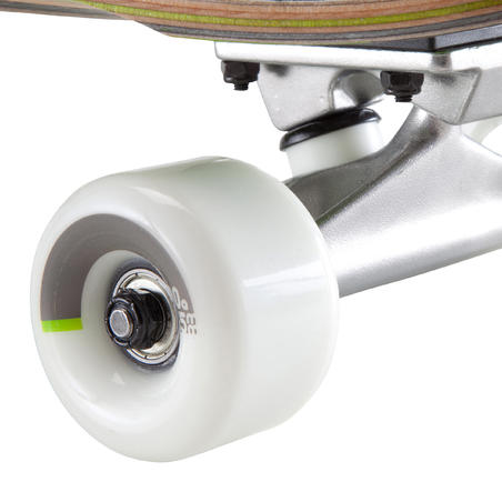 Old School Cruiser Skateboard - Pool Green