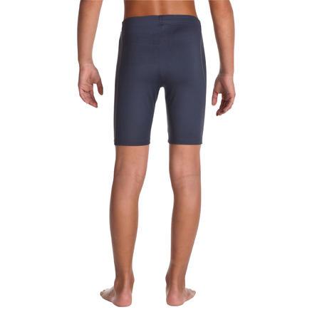 Children's cycling shorts grey