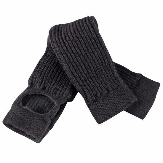 Dans beenwarmers voor dames zwart - 550646