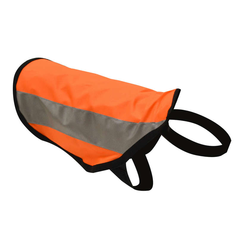 DOG ACCESSORIES Clothing  Accessories - OUTDOG HUNTING DOG COAT HIGH VISIBILITY SOLOGNAC - Clothing  Accessories