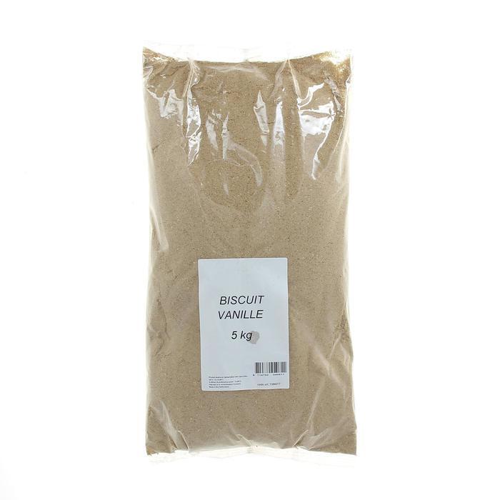 Vanillekoekjesmeel voor statisch vissen 5 kg