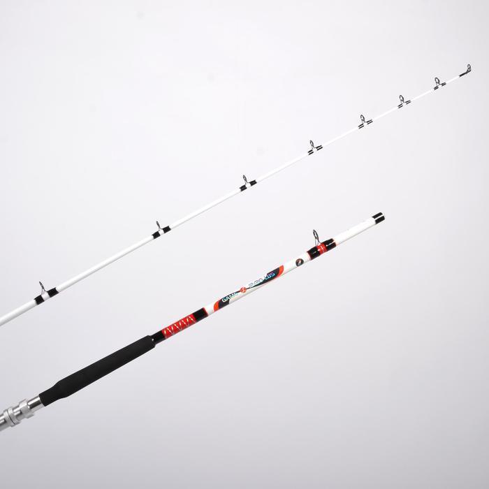 Caña pesca de arrastre GAME 100 12/20 Lb
