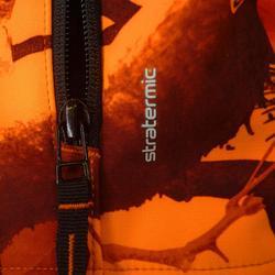 Chaqueta Softshell caza Sibir 500 camuflaje fluorescente