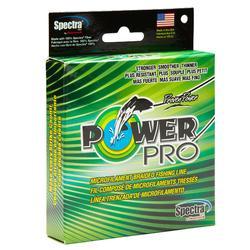 Angelschnur Power Pro 135 m, 0,19 mm, grün, Spinnfischen