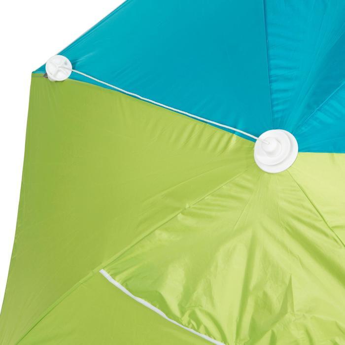 Strandtent Iwiko 180 blauw groen