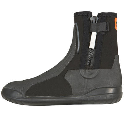 נעלי ניאופרן למבוגרים / סירה של ילדים / קטמרן דגם DG500 - שחור