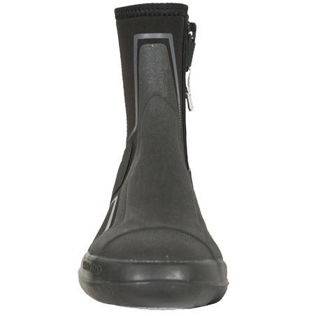 DG500 Adult/Kid's Dinghy/Catamaran Neoprene Boots - Black