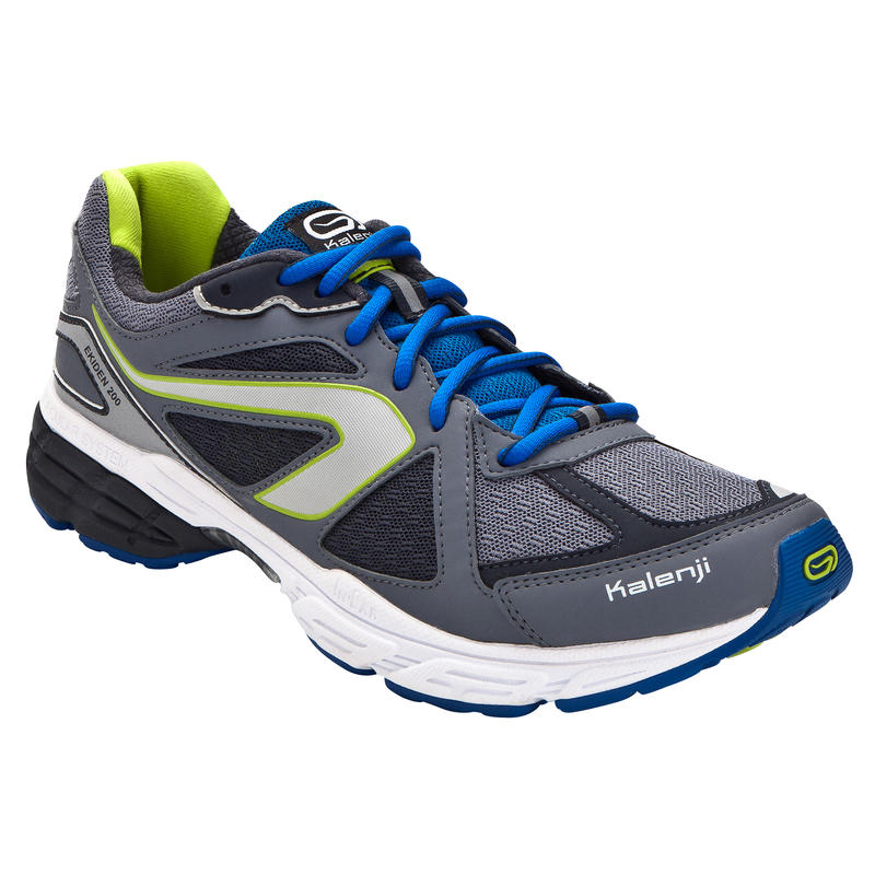 EKIDEN 200 MEN'S WELLNESS RUNNING SHOES - GREY BLUE
