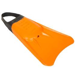 Zwemvliezen bodyboard 100 oranje - 554872