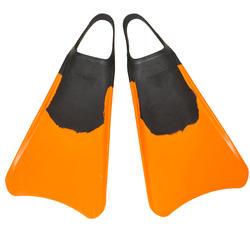 Zwemvliezen bodyboard 100 oranje - 554873