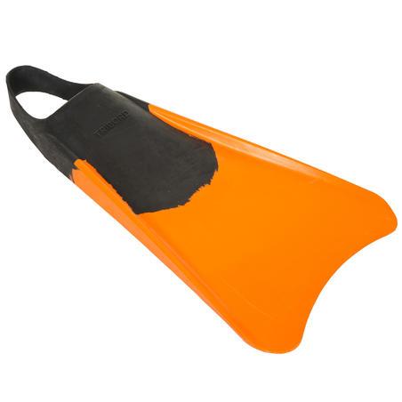 Aletas Bodyboard Tribord 100 Adulto Naranja Negro