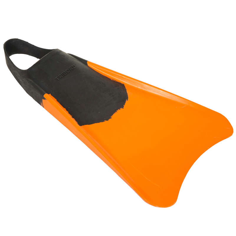 BODYBOARDS AND ACCESSORIES Surf - Bodyboard 100 Fins - Orange RADBUG - Surf