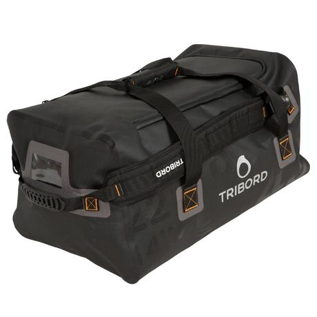 sac de voyage nautique 80 litres noir tribord. Black Bedroom Furniture Sets. Home Design Ideas