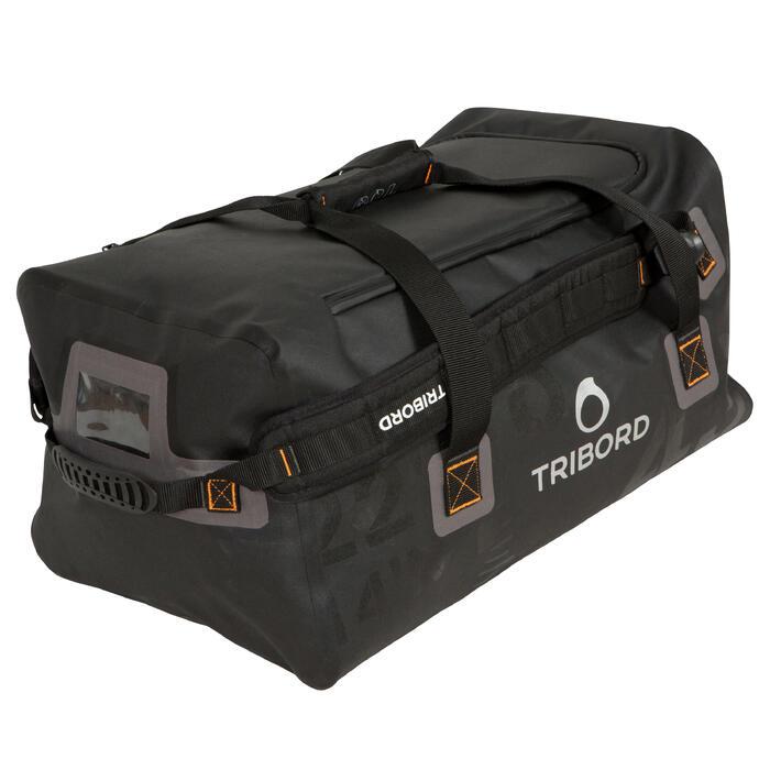 Bolsa de viaje barco 80 litros negro