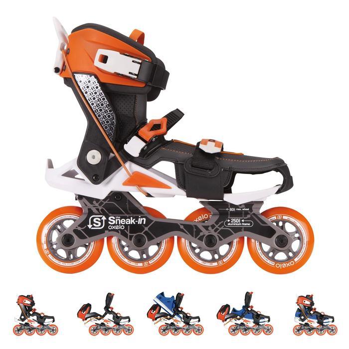 Roller adulte mobilité urbaine SNEAK-IN orange noir - 555499