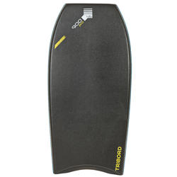 "Bodyboard 900 45"" met kern in polypropyleen en stringer + leash"