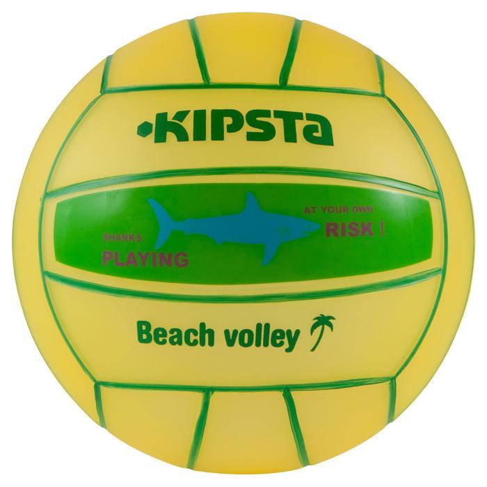 Ballon de beach-volley BV100 jaune et - 556016