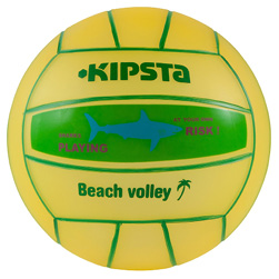 Mini ballon de beach-volley extérieur BV100 poisson