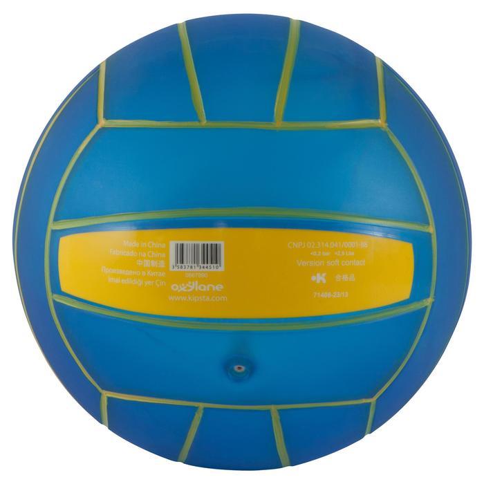 Ballon de beach-volley BV100 jaune et - 556026