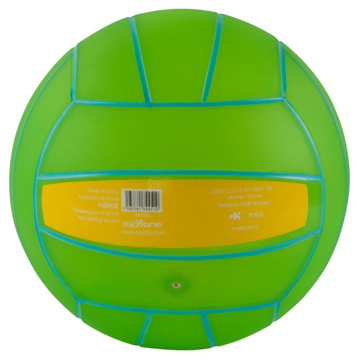 Ballon de beach-volley BV100 jaune et - 556030